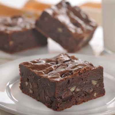 Dark Chocolate Brownies 3