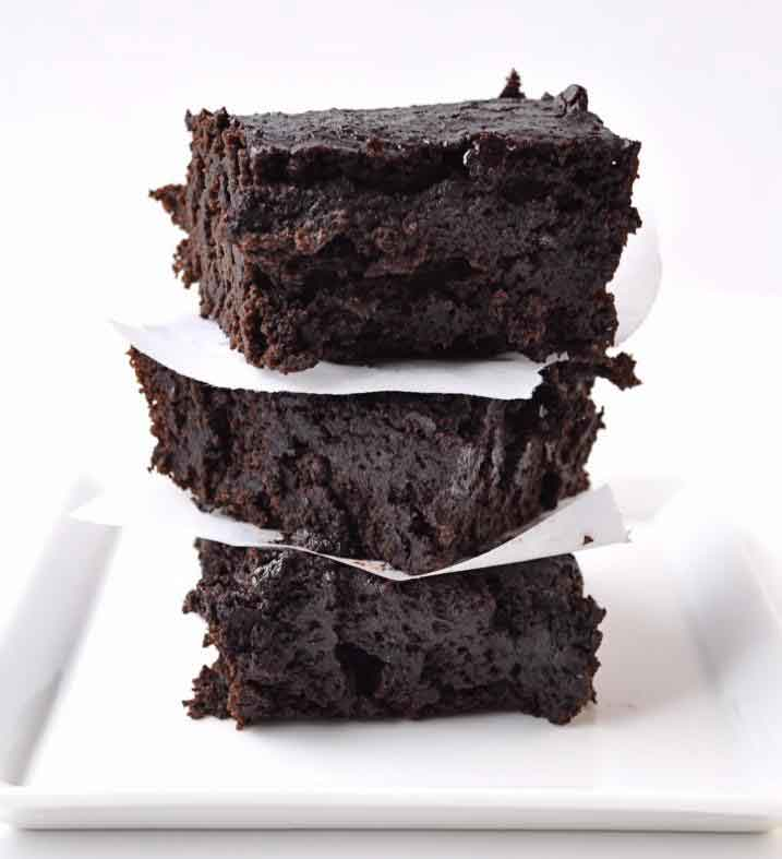 Dark Chocolate Brownies 5