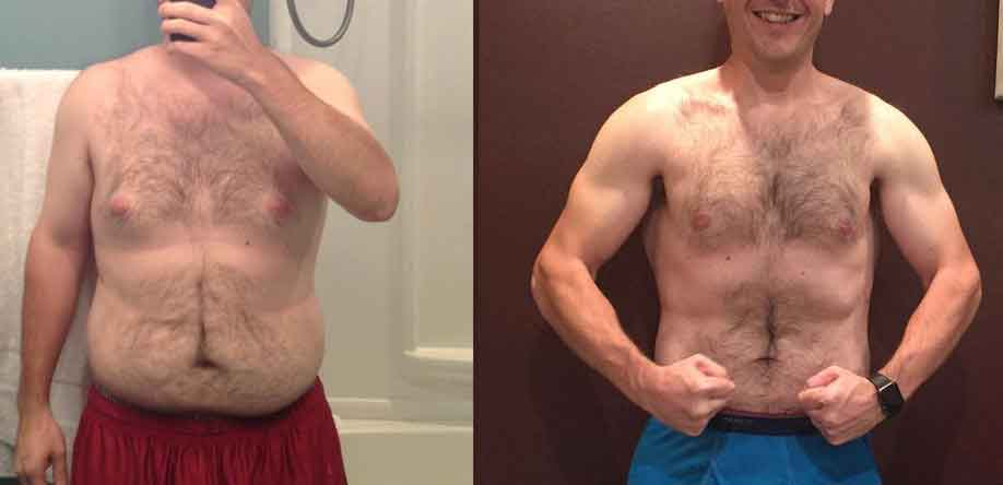 Keto diet before and after 90 days 12