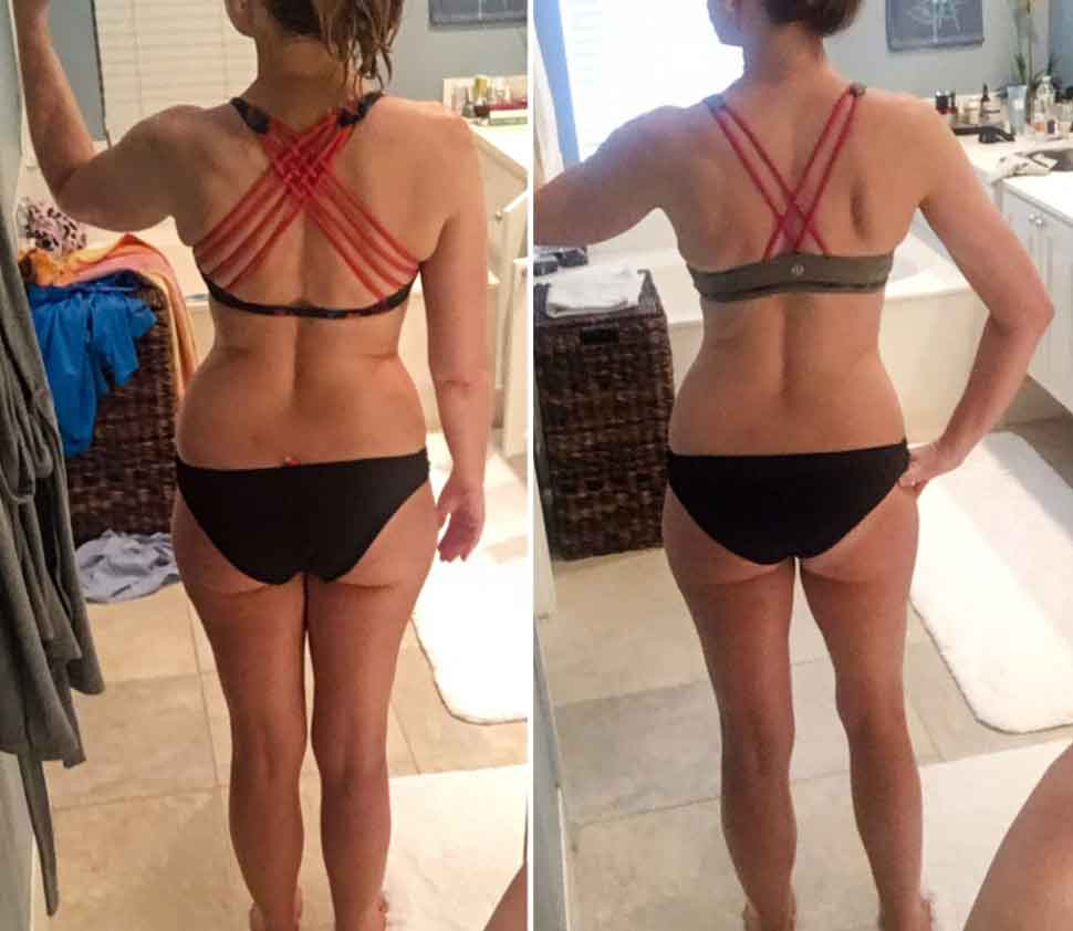 Keto diet before and after 90 days 2
