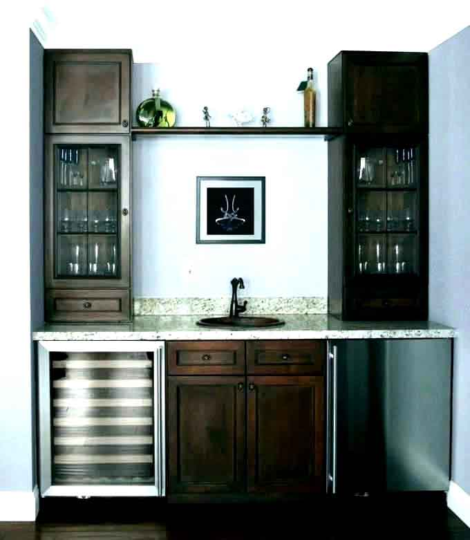 6 piece shaker style home bar 14