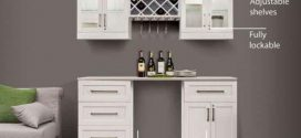 6 piece shaker style home bar