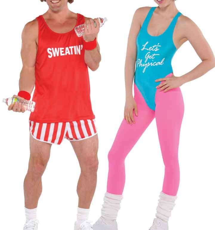 Workout 80s clothes 1