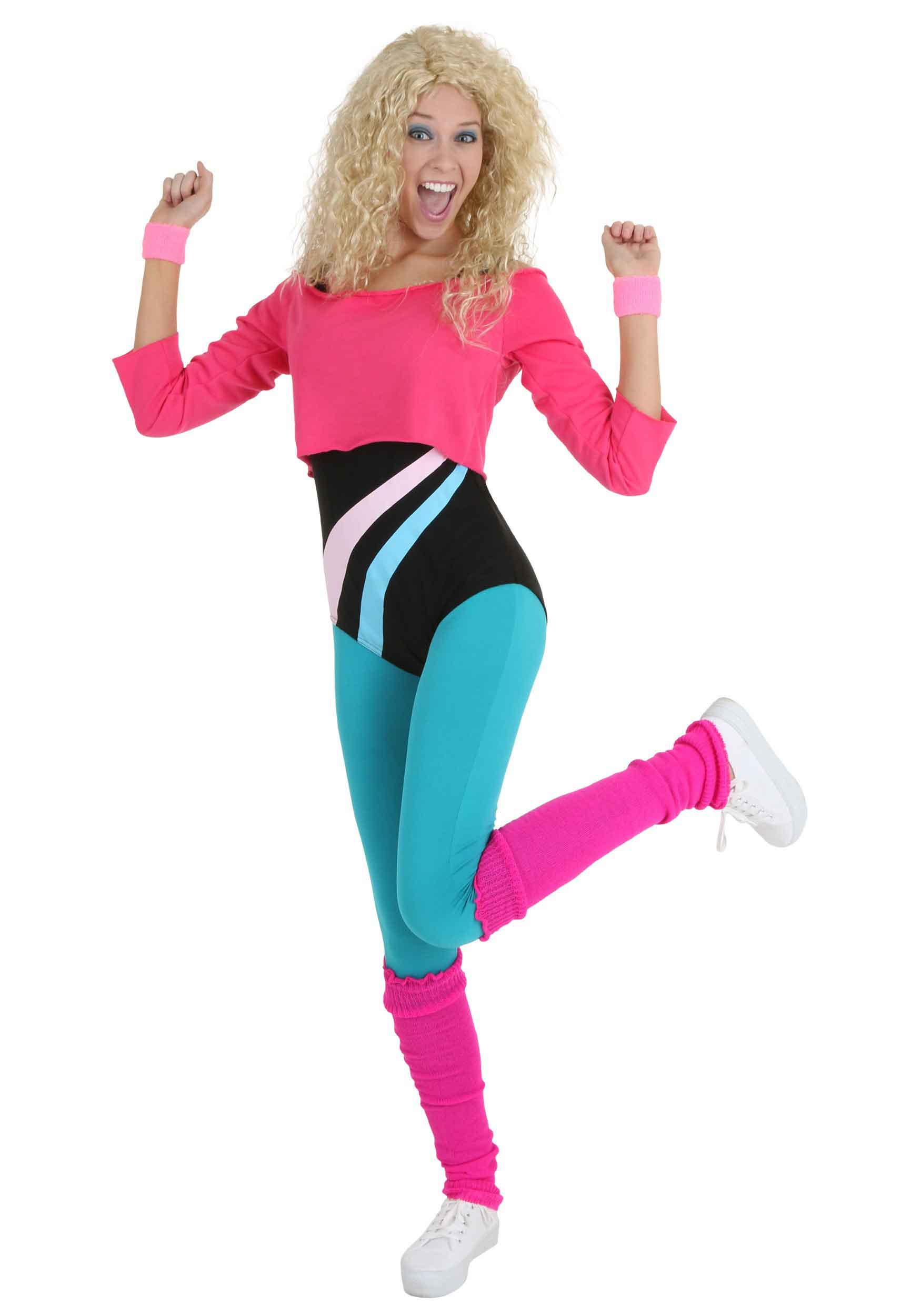 Workout 80s clothes 4