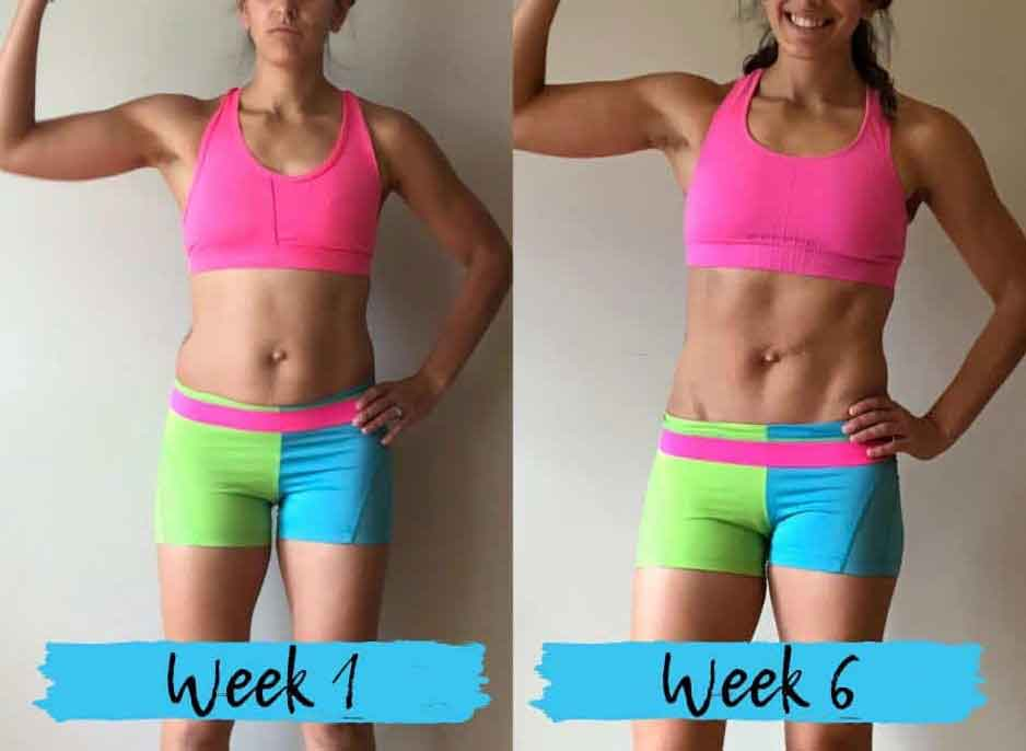6 workouts a week 6