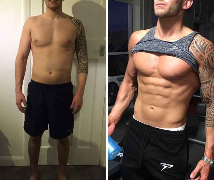 Workout 6 month transformation 11