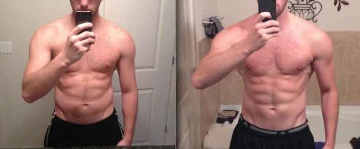 Workout 6 month transformation 2