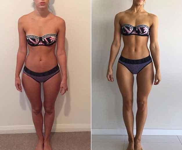 Workout 7 hours a week 15
