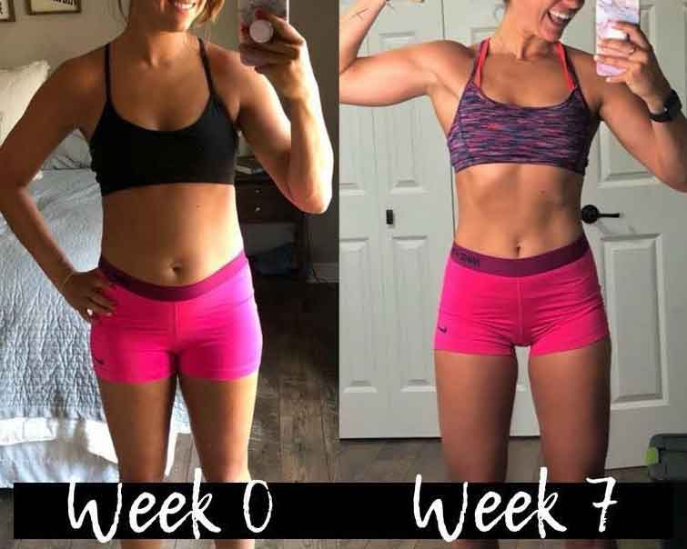 Workout 7 hours a week 2
