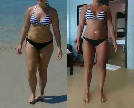 6 weeks diet and exercise 12