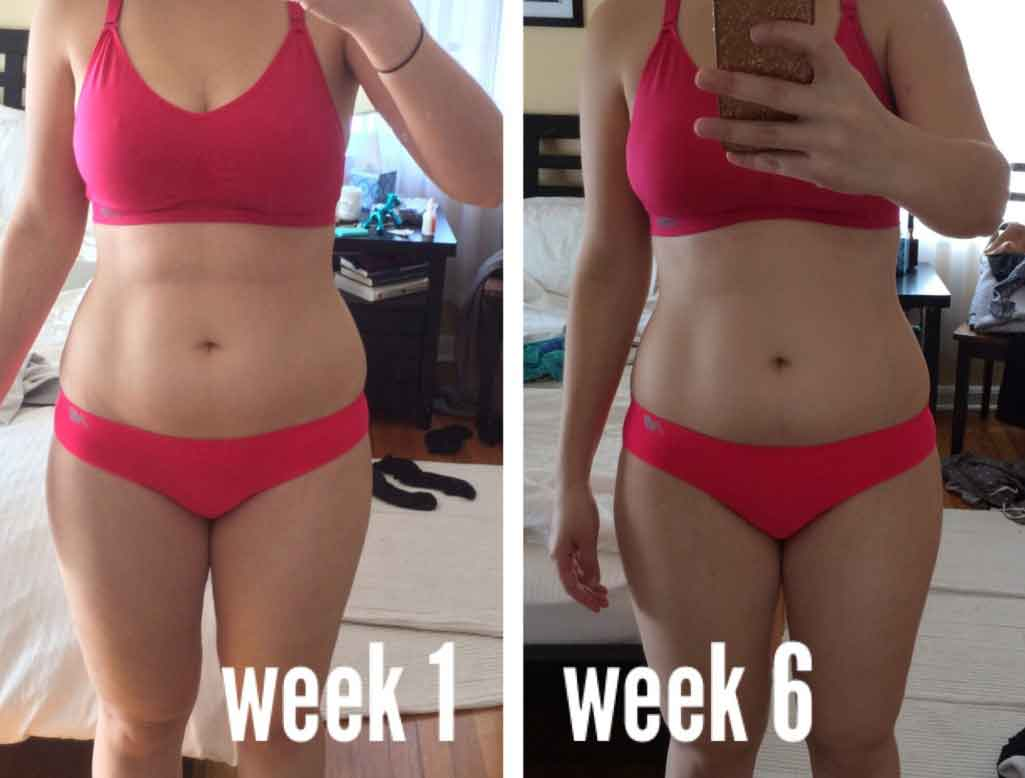 6 weeks diet and exercise 2