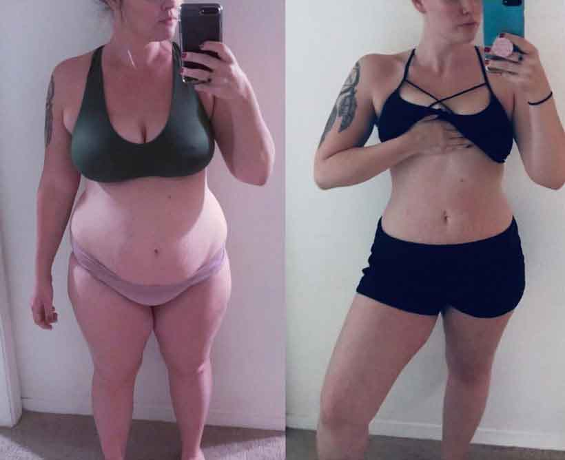 6 weeks diet and exercise 8