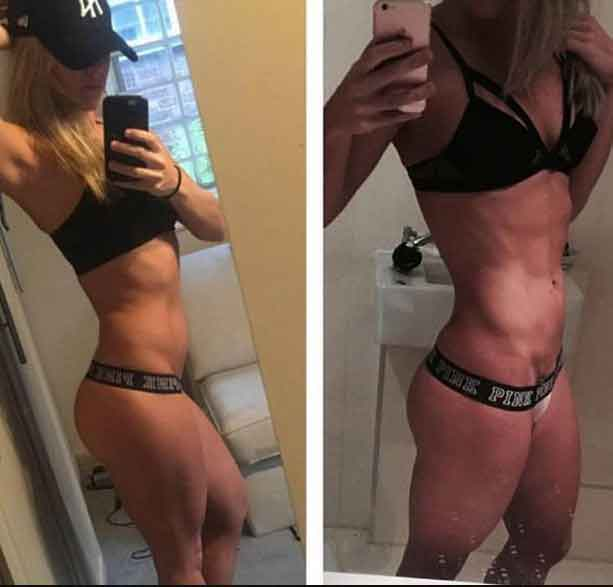 Nutri diet before and after 12