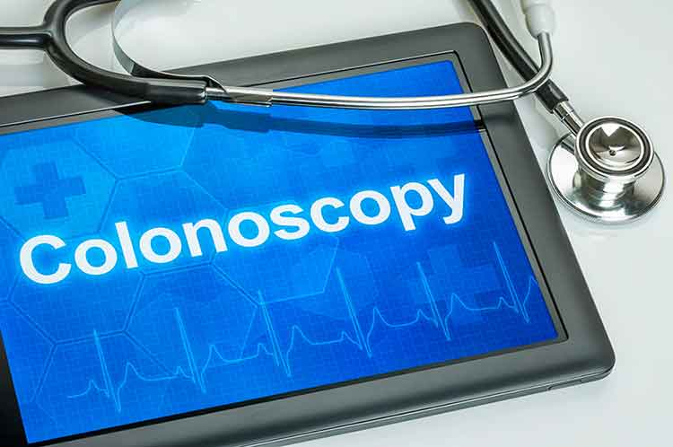 What's associated with colonoscopy prep