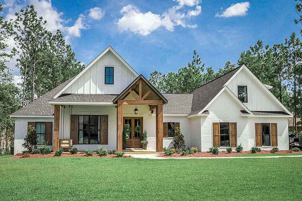 4 bedroom craftsman style home plans 1
