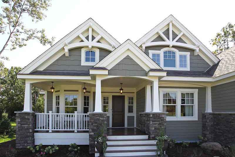 4 bedroom craftsman style home plans 2