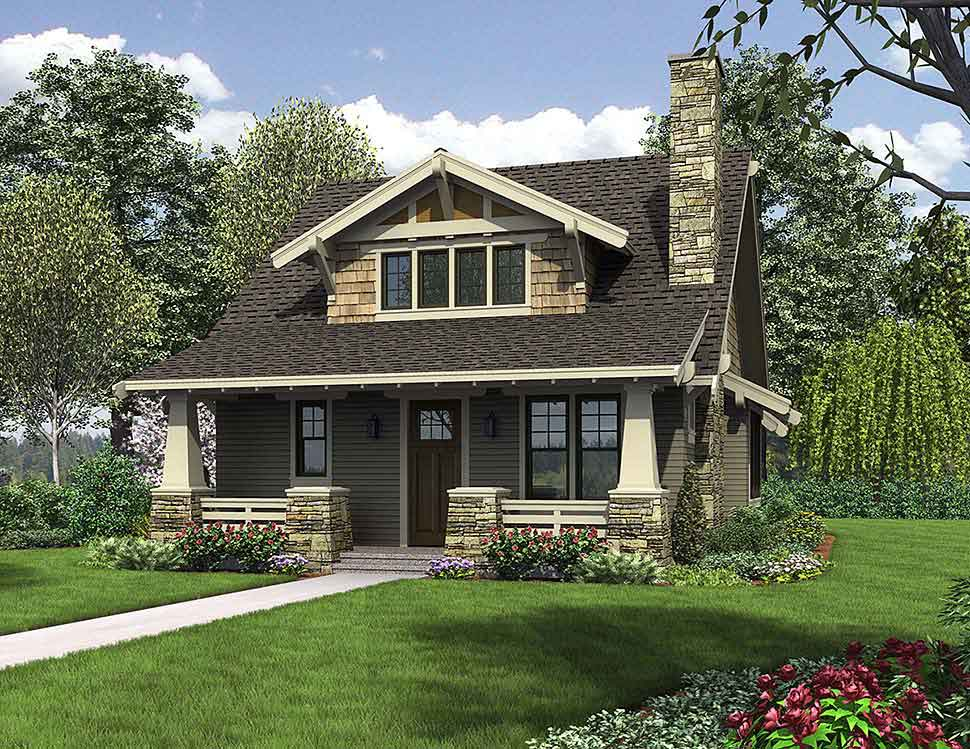 4 bedroom craftsman style home plans 4
