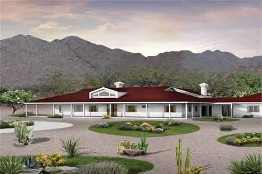 5 bedroom ranch style home plans 1