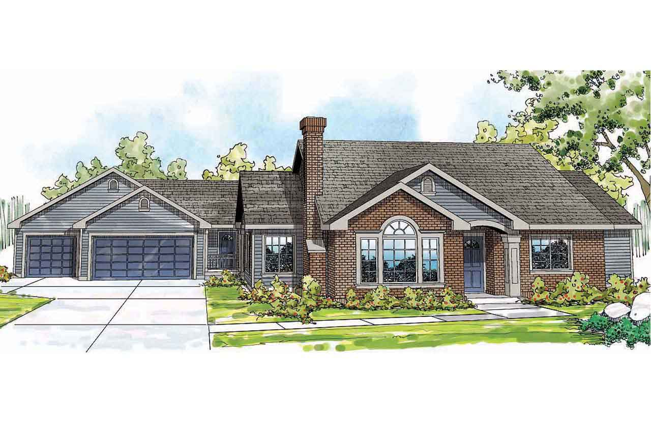 5 bedroom ranch style home plans 2