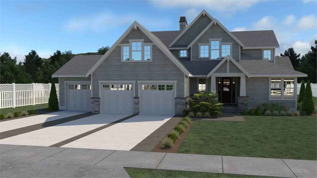 2 story craftsman style home plans 3