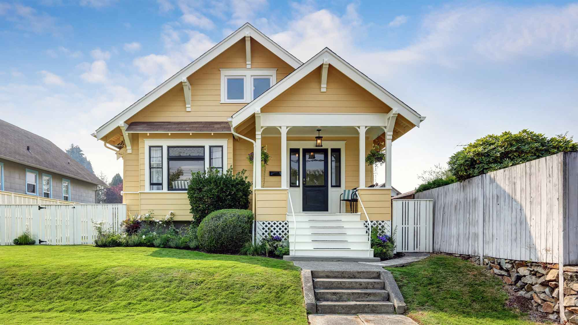 3 story craftsman style home 1