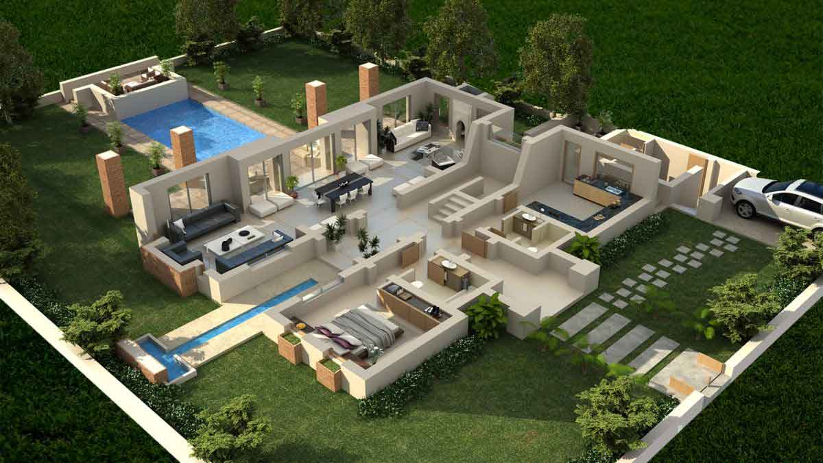 Home style 3d 3