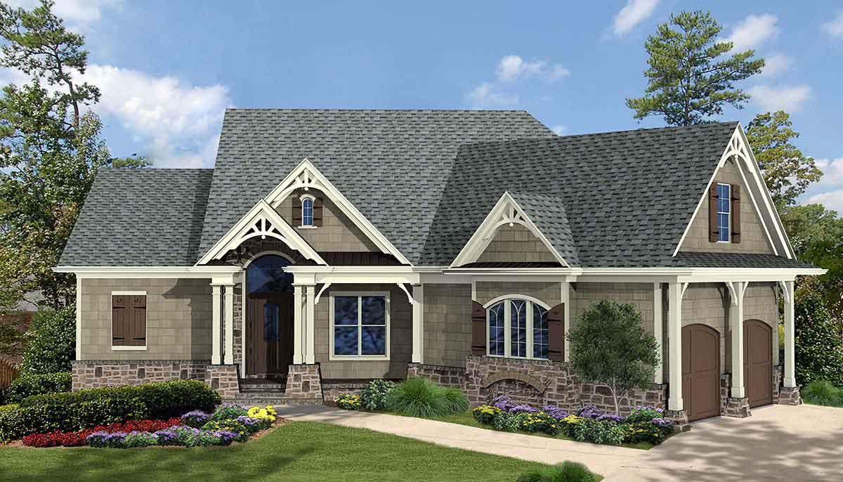 2 story ranch style home 1