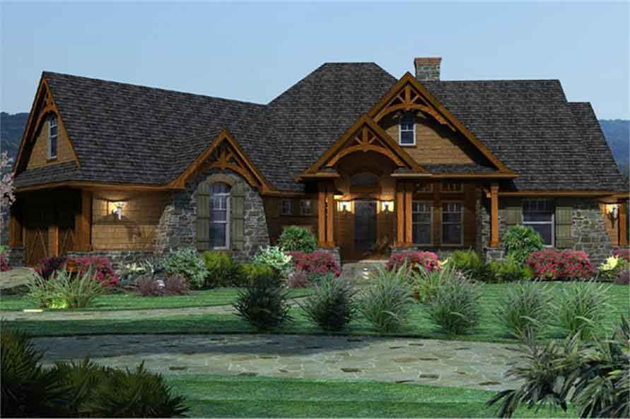 2 story ranch style home 2