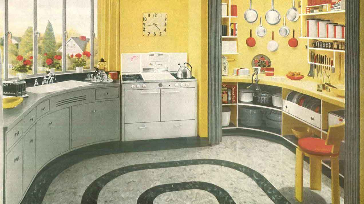 Home decorating 1940's style 1